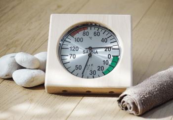 Warda Sauna Thermometer & Hygrometer